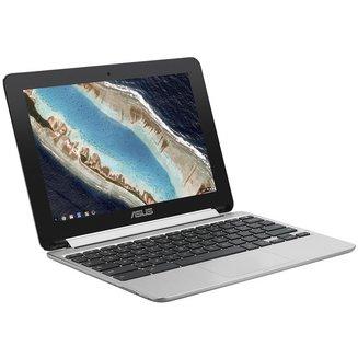 Chromebook Flip C101PA-FS0024 Go Oui avec écran tactile 4 Go Gris 2 an(s) 1280 x 800 Chromebook 9 Heure(s) Chrome OS IEEE 802.11ac 10,1 pouces 16:10 Bluetooth 4.2 ARM eMMC 16 Go 0,9 kg