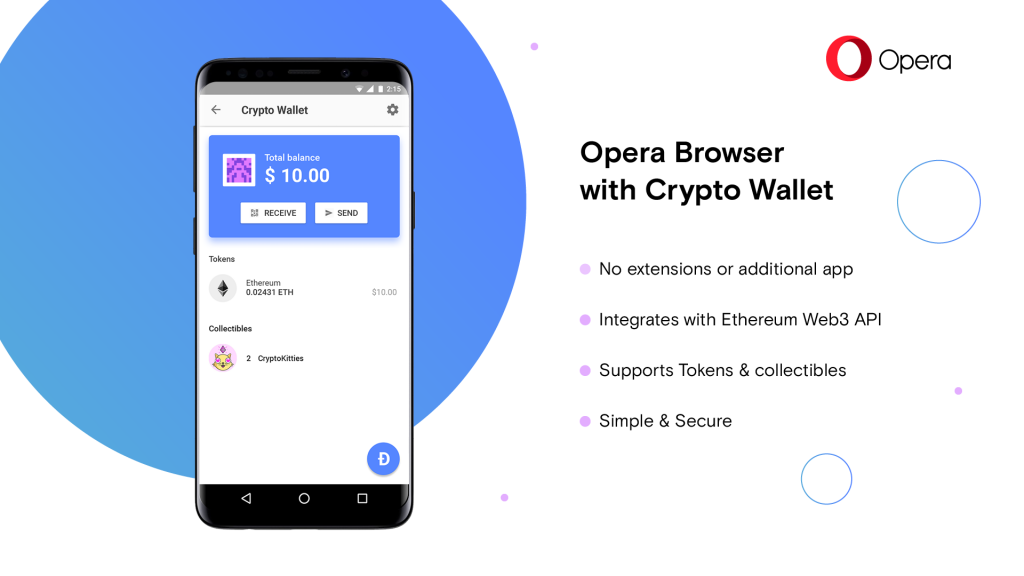 opera android wallet crypto