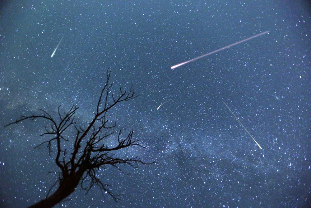Pluie d'étoile filante