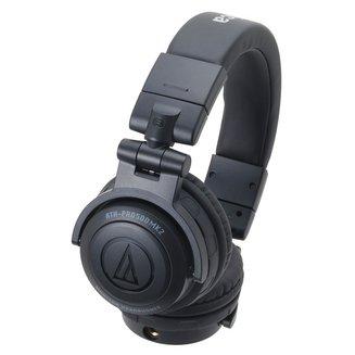ATH-PRO500MK2 - Noirfilaire 3 mètres Noir 10 Hz à 30 KHz 290 grammes 106 dB Jack 3,5 mm Circum-auriculaire fermé 58 Ohm