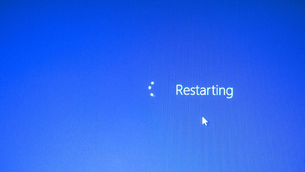 Ordinateur reboot