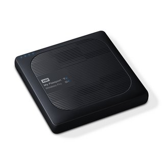 My Passport Wireless Pro - 4 To Noir Wi-Fi/USB 3.0 (WDBSMT0040BBK-EESN)Externe USB 3.0 WiFi 4 To Mac PC 2 an(s)