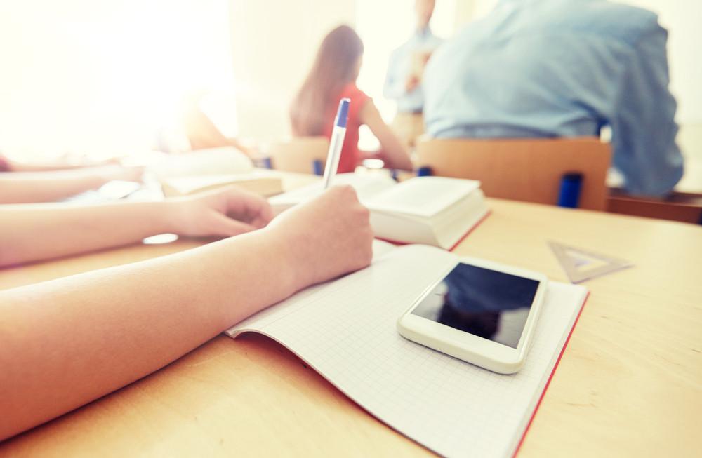 smartphone école