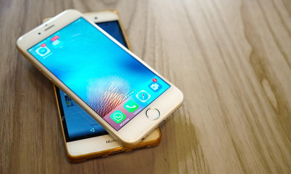 apple huawei smartphones