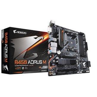 B450 AORUS M4 Oui Micro ATX AMD AMD 64 Go 0 1 10 Serial ATA III Realtek 7.1 6 8 2 6 DDR4 2 x PCI Express 3.0 x16 ALC 892 Socket AM4 1 an AMD B450