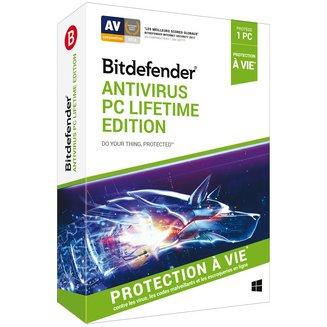 Bitdefender Antivirus PC Lifetime Edition 2019 - Licence à vie (1 poste)Windows Logiciels antivirus et sécurité BitDefender