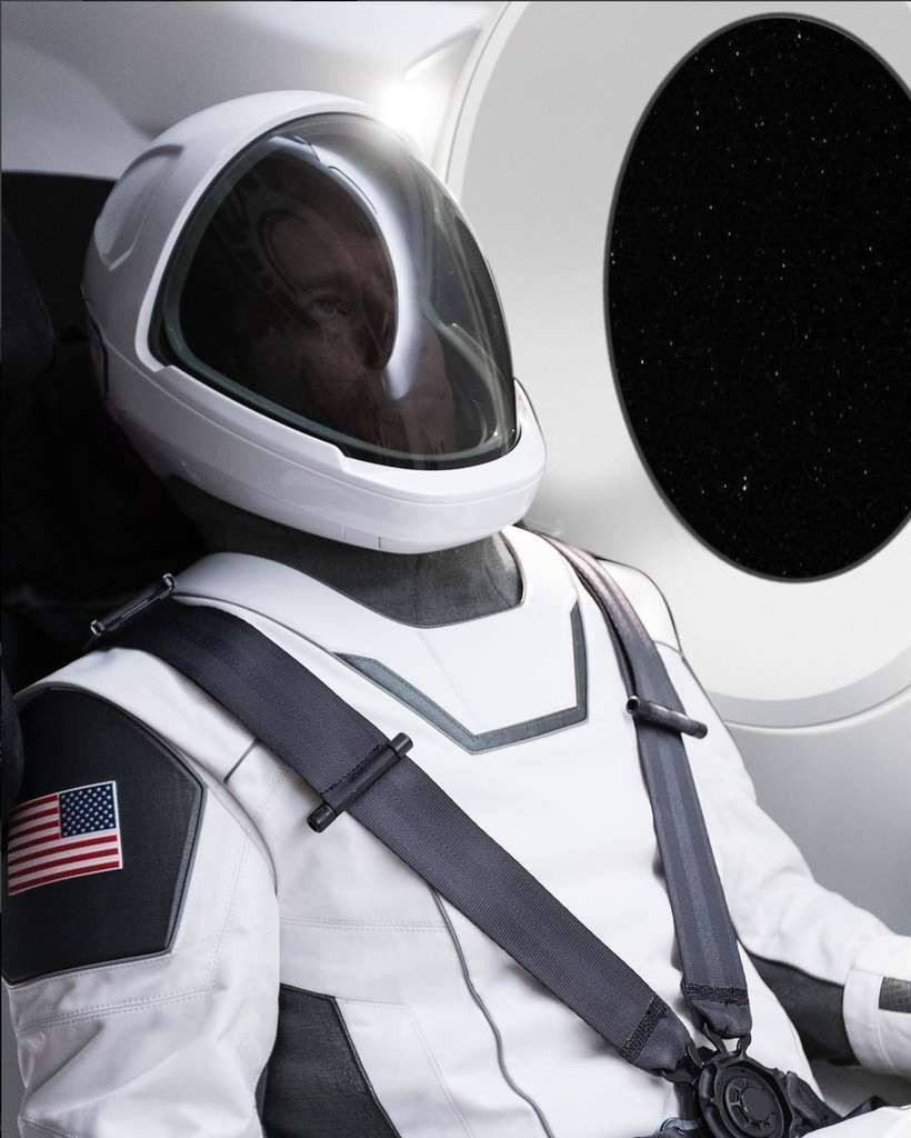 Elon Musk Astronaute