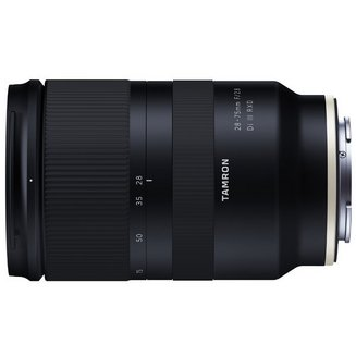 28-75 mm F/2.8 Di III RXD pour monture Sony ECompatible Sony E Standard 28 mm 75 mm F/2.8
