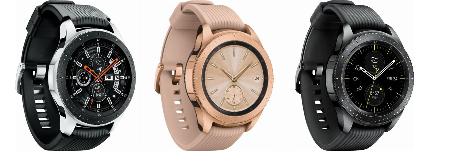 galaxy watch samsung d voile officiellement sa nouvelle montre connect e. Black Bedroom Furniture Sets. Home Design Ideas