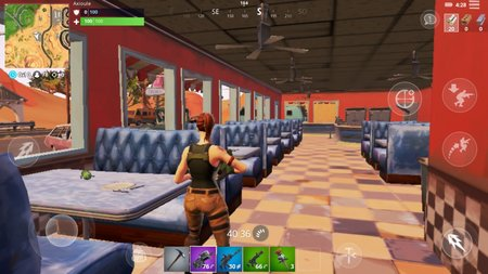 screenshoot fortnite test android