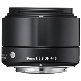 19mm F2/8 DN Noir monture pour Micro 4/3Grand angle Compatible Olympus Compatible Panasonic 19mm F/2.8