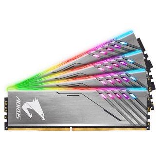 Aorus RGB 2 x 8 Go DDR4 PC25600 (GP-AR32C16S8K2SU416R)DIMM DDR4 16 Go A Vie 2 x 8 Go PC25600 - 3200 MHz 1,35 V 16 RGB