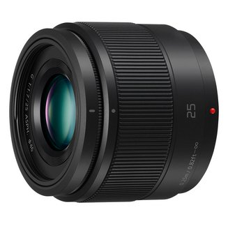 Lumix H-H025E NoirStandard Compatible Panasonic 25mm 25mm Olympus F/1.7