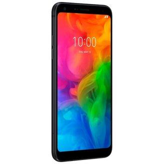 Q7 - NoirMonobloc Edge avec flash 3G avec autofocus avec GPS avec écran tactile avec WiFi 3G+ 3G++ avec stabilisateur d'image Noir 32 Go Android 145 g avec APN 13 Mpixels 1,5 GHz 5,5 pouces 4G LTE NFC Bluetooth 4.2 3 Go Barre micro-USB MicroSD jusqu'à 2 To HSDPA HSUPA avec zoom numérique UMTS Q7 Mediatek MT6750S Octo-core