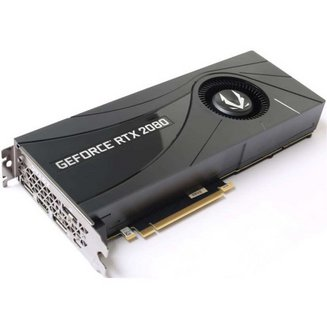 Gaming GeForce RTX 2080 Blower - 8 Go (ZT-T20800A-10P)PCI Express 3.0 8 Go 3 x DisplayPort 1.4 1 x HDMI 2.0b GDDR6 1 x USB 3.1 Type C GeForce RTX 2080