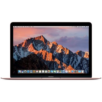 "MacBook 12"" Retina 1.1 GHz 256Go Or rose (MNYM2FN/A)12 pouces 8 Go 256 Go 16:10 Intel HD Graphics 615 0,92 Kg Bluetooth 4.2 Dual Core Mac OS X 10.12 Sierra Intel Core m3 Core m3 1,1 GHz 2304 x 1440"