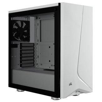 Carbide SPEC-06 TG (Fenêtre) - BlancBoitier moyen tour ATX Micro ATX sans alimentation Oui Acier Mini ITX 4 140 mm Plastique 2 6 Verre trempé Blanc