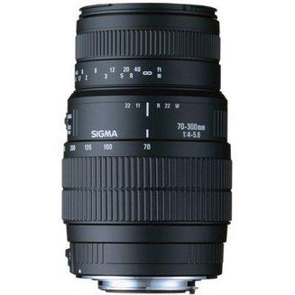 70-300mm F4-5,6 DG Macro monture CanonMacro Compatible Canon 70mm 300mm Télézoom F/4-5.6