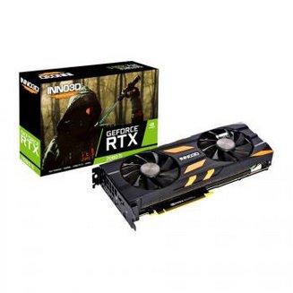 GeForce RTX 2080 Ti X2 OC - 11 Go (N208T2-11D6X-1150633)avec ventilateur 3 x DisplayPort 1.4 1 x HDMI 2.0b 1 an(s) 11 Go GeForce RTX 2080 Ti GDDR6 1 x USB 3.1 Type C