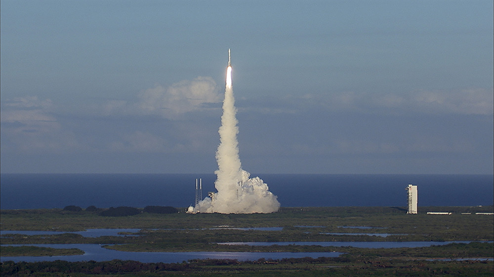 osiris rex lift off