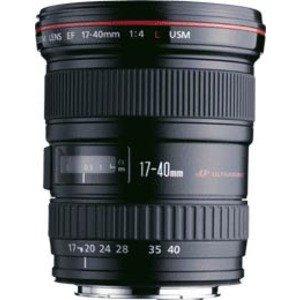 EF 17-40mm F/4L USMCompatible Canon Grand angle professionnel