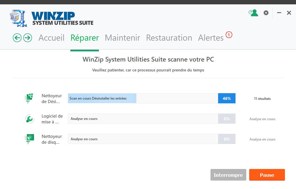 winzip clubic