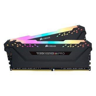 Vengeance RGB PRO Series 2 x 16 Go DDR4 PC21300 (CMW32GX4M2A2666C16)16 Go Dual Channel 32 Go DIMM DDR4 PC21300 - 2666 Mhz A Vie Vengeance 16 1,2 V RGB