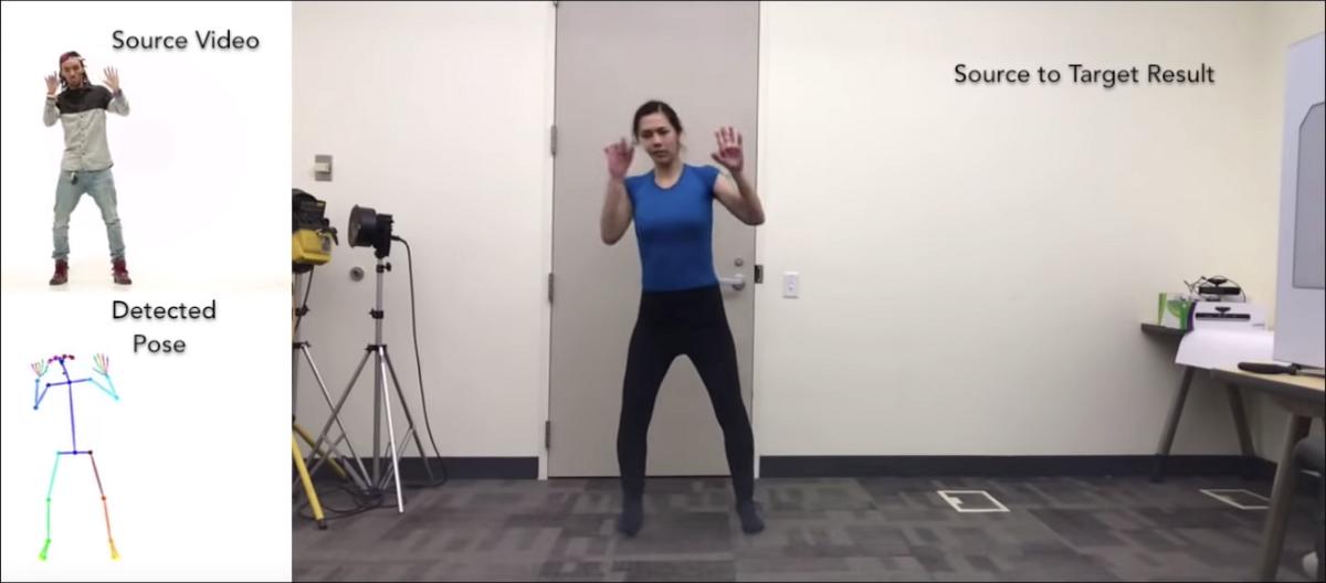 Deepfake x Intelligence Artificielle + Dance