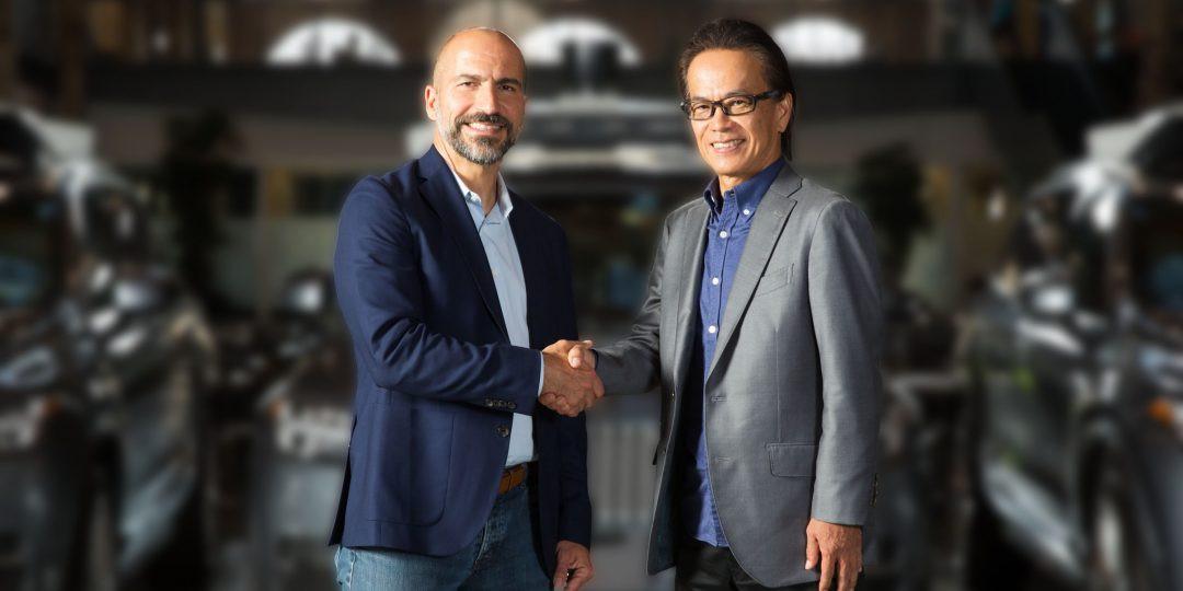 Uber + Toyota