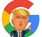 Google serait contre Trump ? Le président américain en est sûr