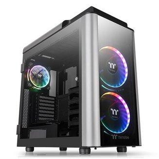 Level 20 GT RGB Plus Edition (Fenêtre) - NoirATX Micro ATX sans alimentation Oui Acier Boitier grand tour Mini ITX 7 9 10 Verre trempé 200 mm E-ATX