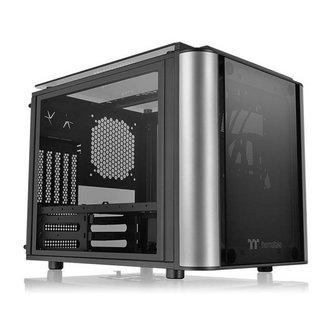 Level 20 VT (Fenêtre) - NoirMicro ATX Acier Noir sans alimentation Oui Mini ITX Mini Tour 9 6 3 Verre trempé 200 mm