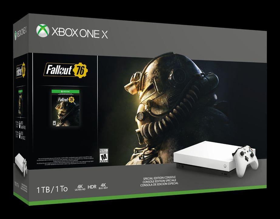 Xbox One X White