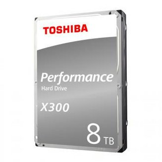 X300 High Performance - 10 To SATA III (HDWR11AEZSTA)Interne Serial ATA III 2 an(s) 10 To