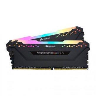 Vengeance RGB PRO 2 x 16 Go DDR4 PC27700 (CMW32GX4M2C3466C16)32 Go DIMM DDR4 A Vie Vengeance 1,35 V 16 2 x 16 Go PC27700 - 3466 Mhz RGB LED