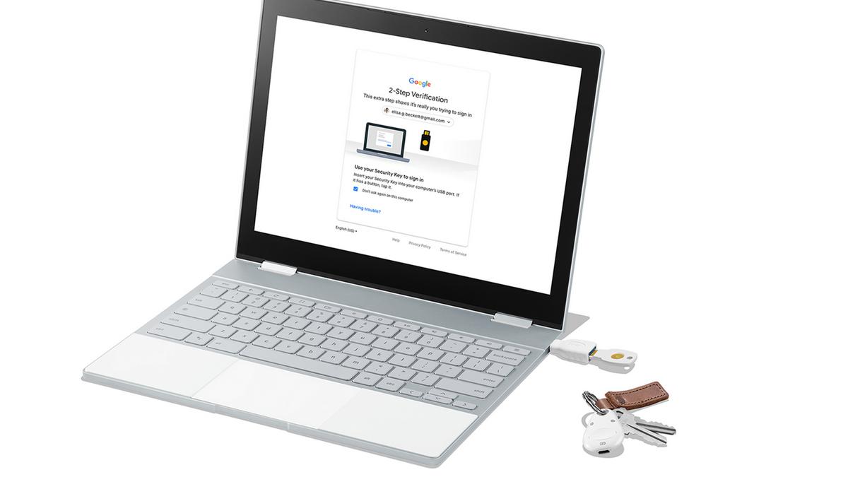 clé de sécurité Titan Google