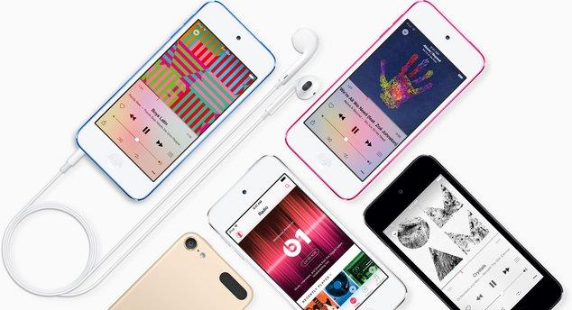 Packshot Apple iPod Touch 6e génération