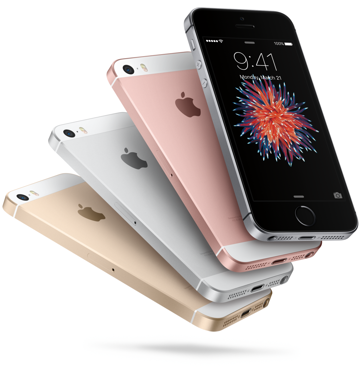 Packshot iPhone SE