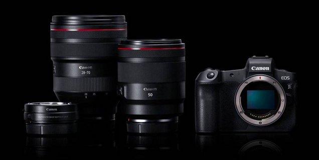 Canon plancherait sur un EOR R à monture hybride EF/RF