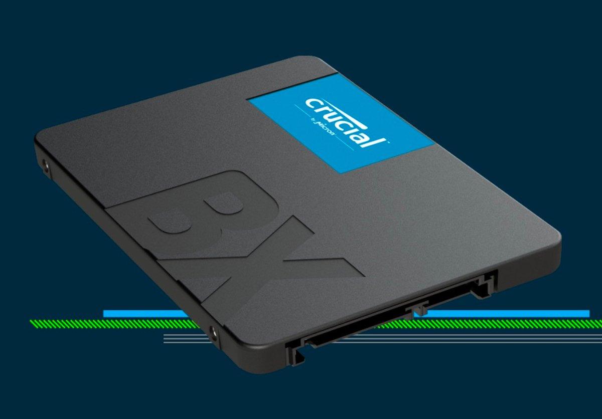 Crucial SSD BX500