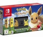 Nintendo Switch : des packs Let's Go Pikachu / Evoli en édition limitée