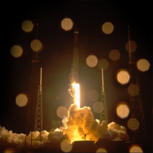 SpaceX Falcon 9 décollage © SpaceX