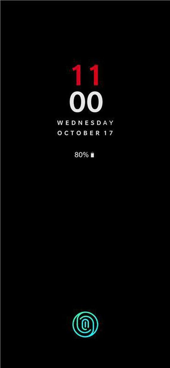 OnePlus 6T capteur empreinte sous ecran