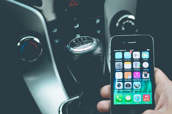 smartphone voiture
