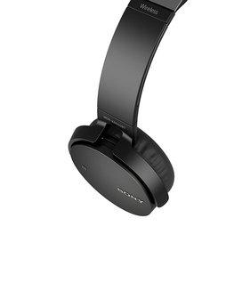 Casque sans fil EXTRA BASS™ MDR-XB650BT Noirsans fil Bluetooth 10 mètres 180 grammes Supra-aural Bluetooth Noir