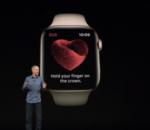 Un médecin porte plainte contre Apple à propos du système de détection cardiaque de l'Apple Watch