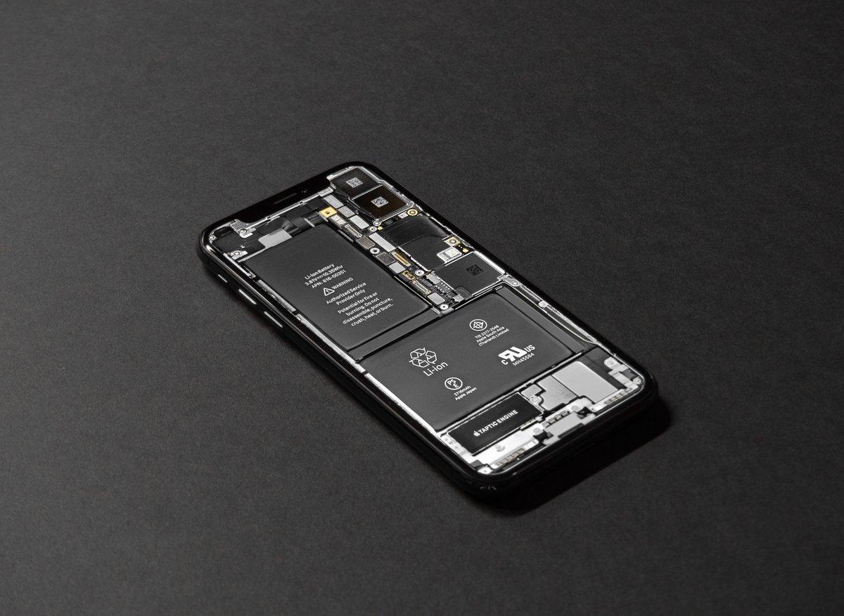 iPhone Batterie © Tyler Lastovich. Unsplash.