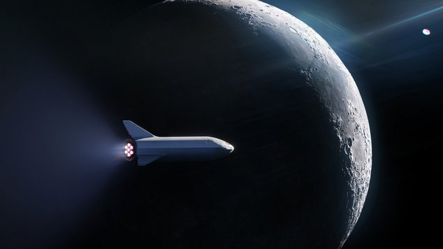 spacex lune client