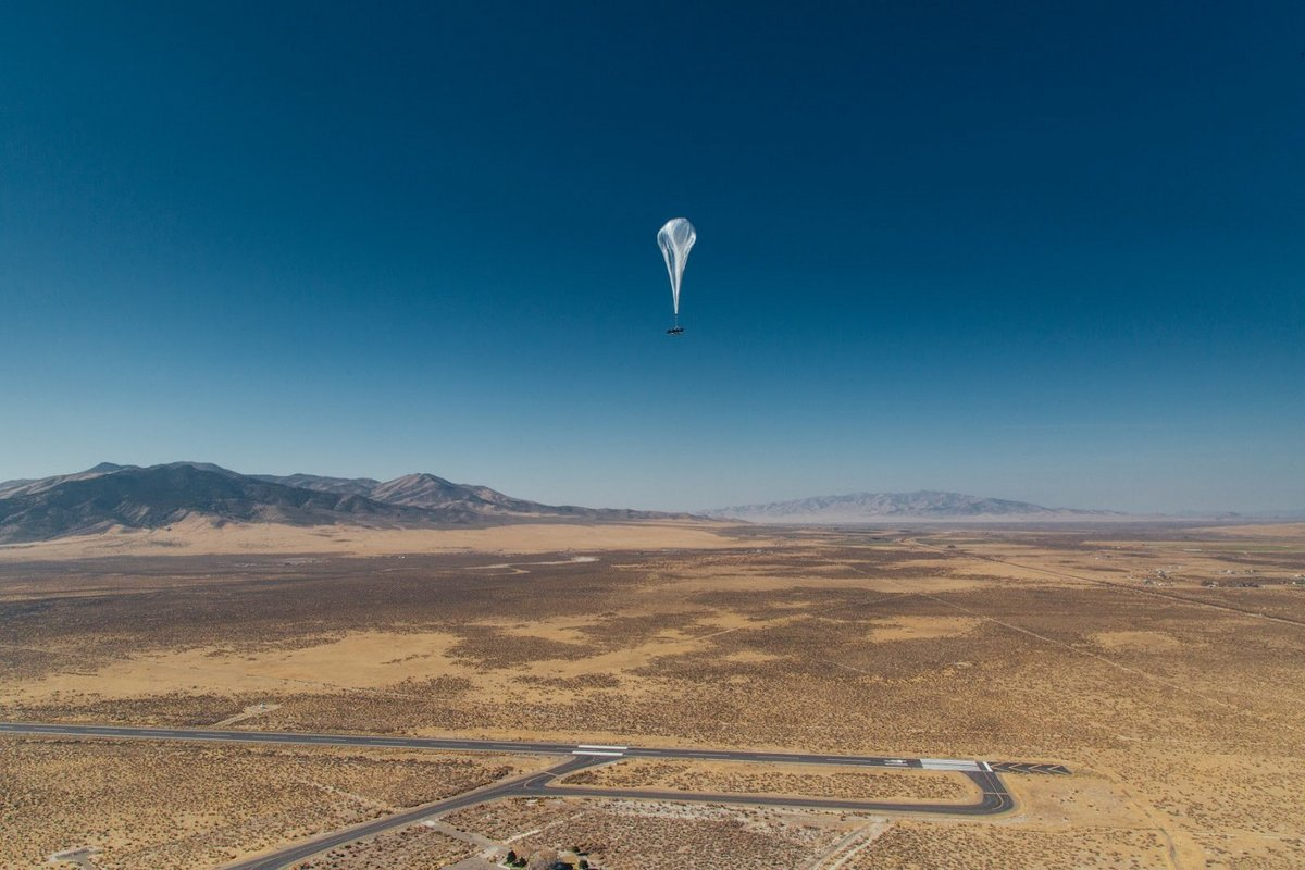 Alphabet Google X Loon