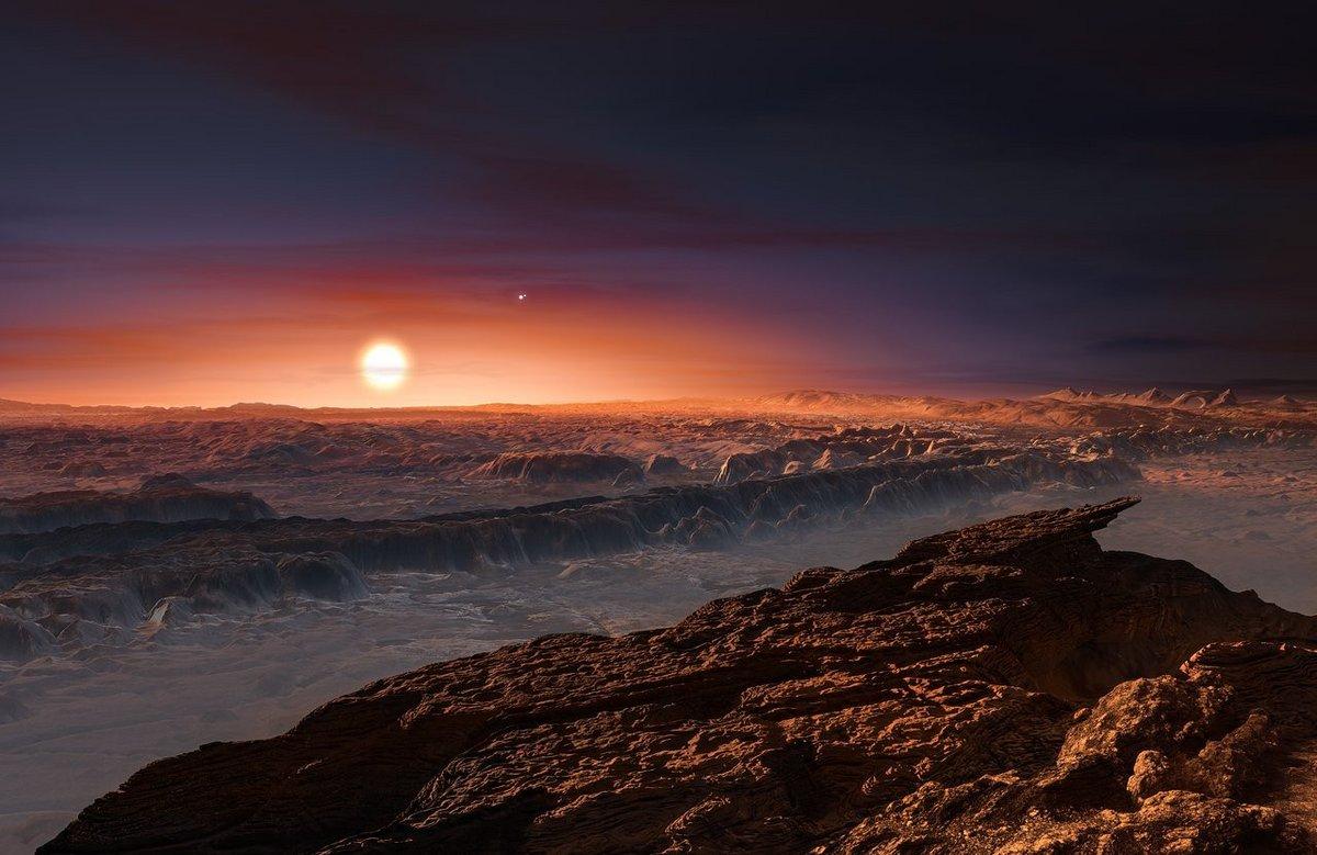 Proxima Centauri b © ESO/M. Kornmesser